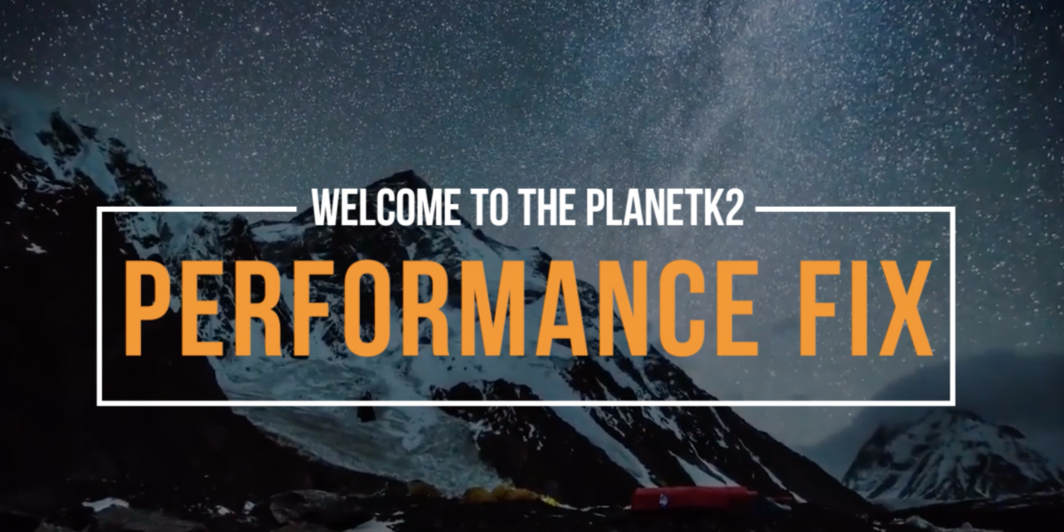 The performance fix self talk